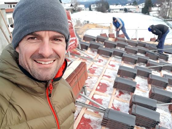 Ein Dach als Weihnachtsgeschenk